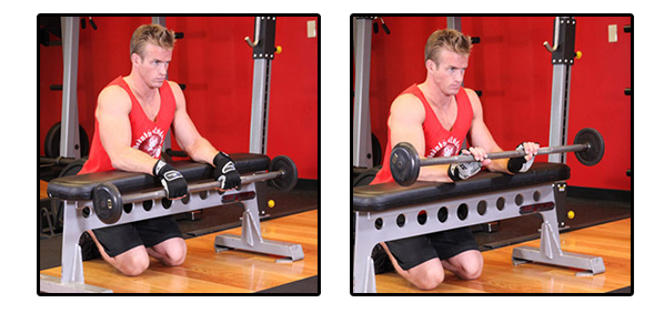 Palms-Down-Wrist-Curl-Over-A-Bench